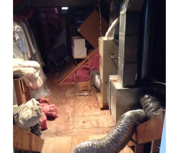 Central Air condition loss - Carver, MA Before